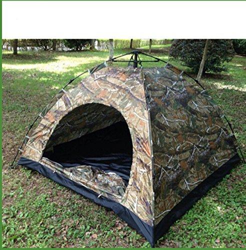 ZHANGYUQI Zhang Yuqi Automatische Rechtschreibfarbe Outdoor Survival Outdoor-Zelt Campingzelt Für Free Einrichten,FlowerGreen