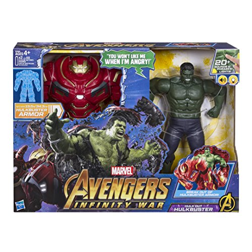 Marvel Avengers Heroes Figure Avengers Infinity War Hulkbuster 2 in 1 A Function, E0568