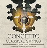 Concetto Classical Guitar Strings Set Nylon Regular .028-.043