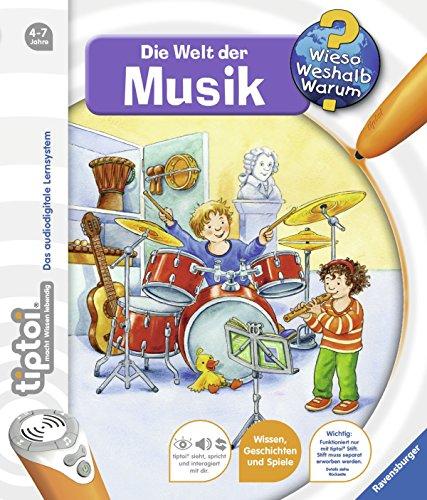 Preisvergleich Produktbild Die Welt der Musik (tiptoi® Wieso Weshalb Warum, Band 3)