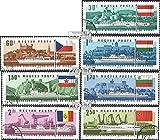 Prophila Collection Ungarn 2323A-2329A (kompl.Ausg.) 1967 Session d. Donaukommission (Briefmarken für Sammler) Seefahrt
