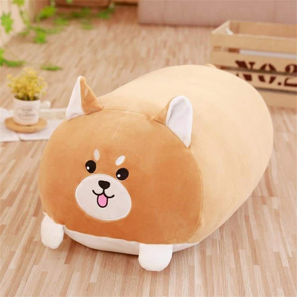 Ocamo Squishy Chubby Cute Animal Plush Toy Soft Cartoon Pillow Cushion Shiba Inu 25cm Merry Christmas