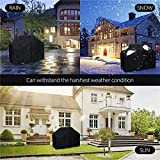 BBQ Grill Cover, 600D Waterproof Barbecue Cover Grill Cover 3-4 Burners Gas Grill Cover Barbecue Grill Cover Grill Protection Cover Heavy Duty Waterproof Dust-proof Tear-proof UV-proof(58 Inch/147 cm)