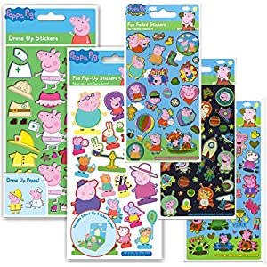 Paper Projects 01.70.24.046 Peppa Pig - Pack de Pegatinas