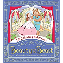 Beauty and the Beast (3D Colouring & Activity)