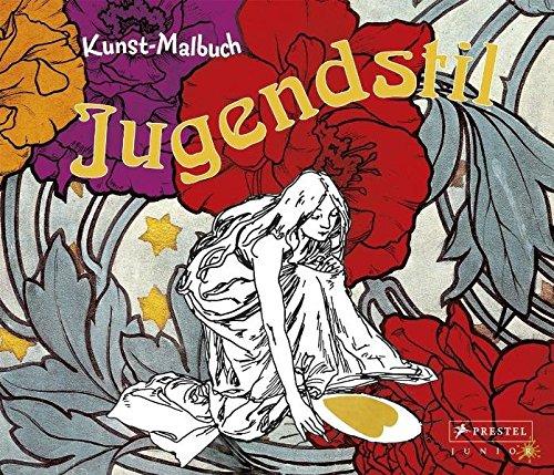 Kunst-Malbuch Jugendstil