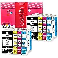 Cseein Compatible 27XL Cartuchos de Tinta Gran Capacidad para Epson WorkForce WF 3640 7610 3620 7620 7110 Impresora (2 Negro, 2 Cian, 2 Magenta, 2 Amarillo)