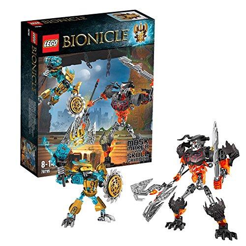 LEGO-Bionicle-70795-Mask-Maker-VS-Skull-Grinder-Action-Figure