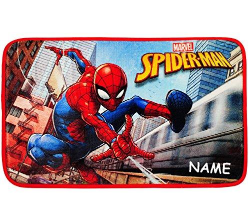 Preisvergleich Produktbild alles-meine.de GmbH 3 in 1: Bettvorleger / Badewannenvorleger / Duschvorleger - Spider-Man - i..