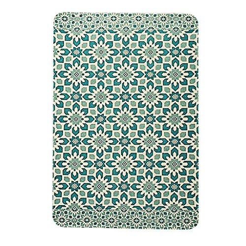 grüner Retro Musterteppich Tradition und Design Sinn Teppich Wohnzimmer großer Teppich Attraktiver Stil Mit antiken Möbeln oder friedliche Atmosphäre (Size : 100 * 150CM) - Antik-stil Teppich