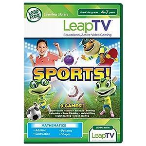 LeapFrog LeapTV Learning Game Sports