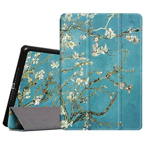 Fintie iPad Mini 1/2 / 3 Hülle - Ultra Schlank Superleicht Ständer SlimShell Case Cover Schutzhülle Tasche mit Auto Schlaf/Wach Funktion für Apple iPad Mini/iPad Mini 2 / iPad Mini 3, Mandelblüten