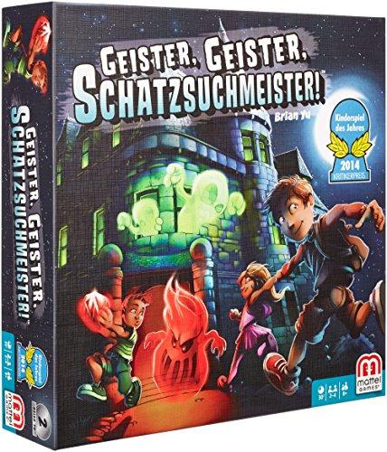 Mattel-Y2554-Geister-Geister-Schatzsuchmeister-Strategiespiel