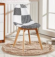 Qui n'aime pas un beau patchwork rétro? Cette étonnante chaise fabriquée en bois de hêtre résistant et plastique ABS est très résistante. Design inspiré par le style Eiffel connecté avec les toutes dernières tendances parfait pour tous les intérieur...