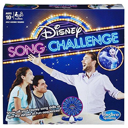 Hasbro Jeu E1872102Disney Chanson défi Jeu