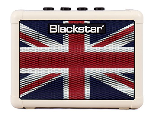Blackstar Fly3 Union Jack Mini amplificatore a batterie per chitarra 3W Modello Uk