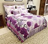 Amethyst Floral Attractive Cotton Double...