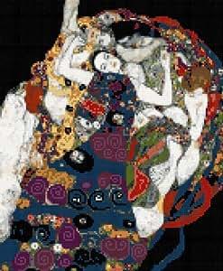 Maiden par Klimt Kit broderie pour point de croix Motif