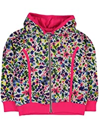 boboli Fleece Jacket For Girl, Sweat-Shirt à Capuche Fille