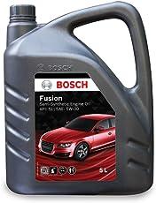 Bosch Fusion API SL SAE 5W 30 Semi Synthetic Engine Oil for Passenger Cars (5 L)