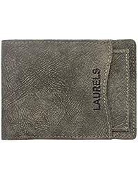 Laurels Rogue IV Black Men's Wallet With Removable Card Holder