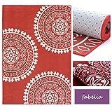Sale% Teppich Kollektion Moderne Designs - Traumhafte Farben und Detailverliebtheit in Leinwand Optik (160 cm x 230 cm, Red Trinity Star - Kreis Rot)