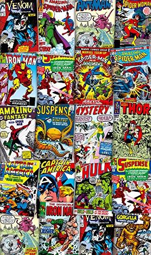 Komar - Marvel - Vlies Fototapete COVER MODERN - 120 x 200 cm - Tapete, Wand Dekoration, Superhelden, Retter - VD-007