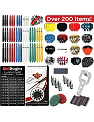 Red Dragon Darts 200 Piece Bumper Darts Accessory Pack