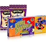 1xJelly Belly Bean Boozled Partyspiel & 2xJelly Belly Harry Potter Bertie Bott´s Sweetsking Set