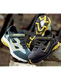 """Cofra PJ014–000.w46Talla 46s1P """"Air grandes zapatos de seguridad, color beige/gris"""