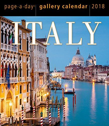 Preisvergleich Produktbild Italy Page-A-Day Gallery Calendar 2018