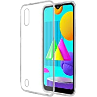 Amazon Brand - Solimo Mobile Cover for Samsung Galaxy M01 (Soft & Shockproof Back Case with inbuilt Cushioned Edges…