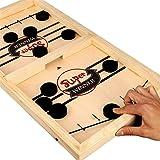 لعبة هوكي دوكولر باونسينغ شوت لوح لعبة للاباء والاطفال تفاعلية - لعبة للاعبان، العاب سطح المكتب لعبة للطاولة في الاماكن المغل