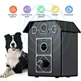 Stop Dog Bark, Anti Barking Device Ultrasonic Dogs Bark Stopper, Waterproof Anti-Barking Deterrent Control Devices 4 Adjustable Ultrasonic Levels, Safe & Human Training For Small To Large Dogs