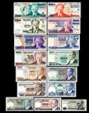 *** 10 - 20000000 türkische Lira Serie Replik 1979 - 2005 - 15 alte Banknoten - Reproduktion ***