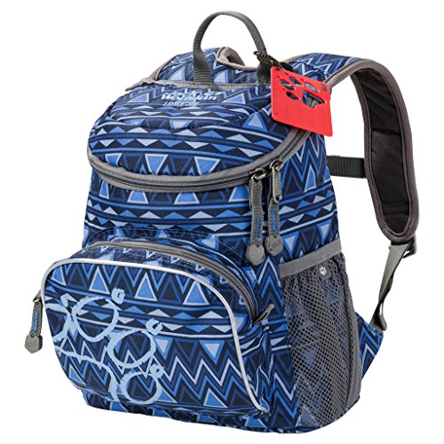 JACK WOLFSKIN Rucksack LITTLE JOE, rose navajo, ONE SIZE, 26221-7944 royal blue navajo