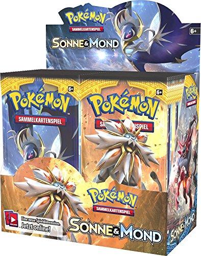 Preisvergleich Produktbild Pokemon Sonne und Mond 01 Display (36 Booster)
