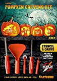 NEW: Stencil & Carve Pumpkin Carving Kit