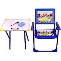 RUDRAMS kids study table with chair with marker & Duster || kids table and chair set || table chair set for kids 3-5…