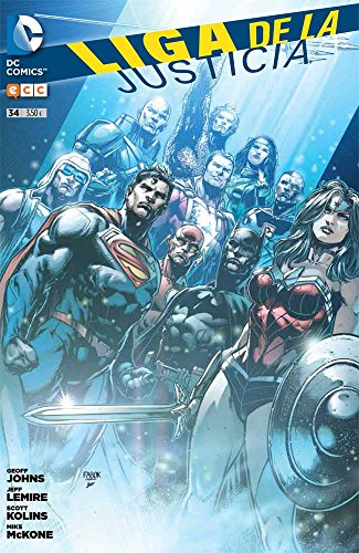 Liga De La Justicia Núm. 34