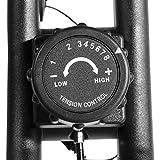 GORILLA SPORTS® Ergometer Fitness-Bike faltbar – Heimtrainer Fahrrad mit Trainingscomputer und bis 100 kg belastbar - 4