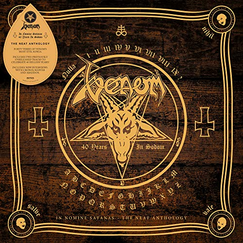 Venom -In Nomine Satanas (Libreto) (2 CD)
