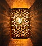 #7: Logam Vienna Black and Gold Wall Light