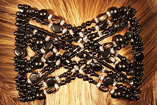 women-magic-hair-clips-stretchy-ez-double-comb-black-pearls