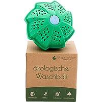 OrganicMom® Boule de lavage / savon de caillebotte sans huix personnes allergiques / Lavage sans détergent / Lavage…