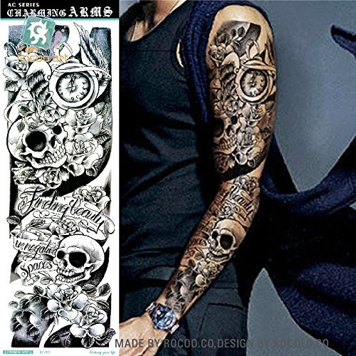 Temporäre Körperkunst Entfernbare Tattoo Aufkleber Ärmel Sticker Tattoo Temporary Tattoo - FashionLife