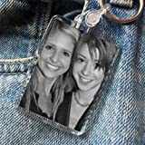 Alyson Hannigan & Sarah Michelle Gellar - Original Art Keyring #js002