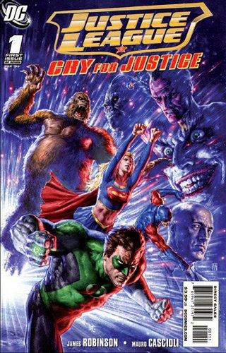 Justice League, Tome 1/2 : La justice à tout prix