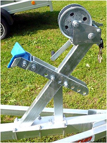 winde fuer bootsanhaenger - Prototyp Tester