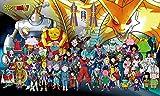 Stickers Muraux Dessin Animé Dragon Ball Z Animation Stickers Muraux Étanches Chambre Anime Stickers Muraux 100X60Cm Art Décoration E